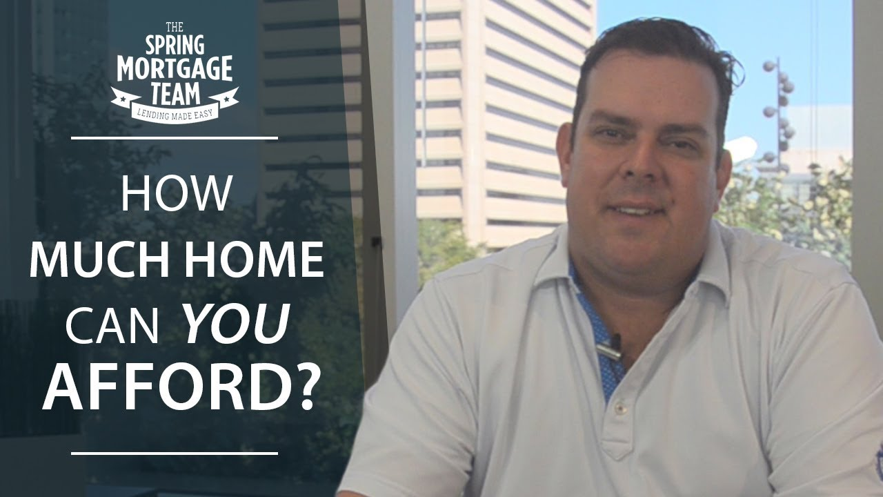 Do You Know How Much Home You Can Afford?