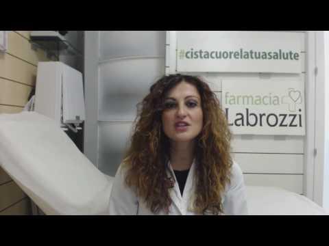 Eczema di posto su un corpo