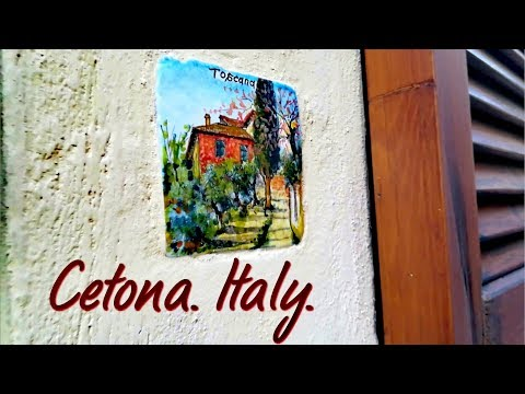 Тоскана: покой или скука? Городок Четона / Сetona. Tuscany.