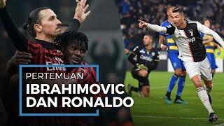 Semifinal Coppa Italia Pertemukan Zlatan Ibrahimovic dan Cristiano Ronaldo