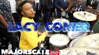 Lacy Comer -  Killing on Drums at the Cogic Convocaion 2019