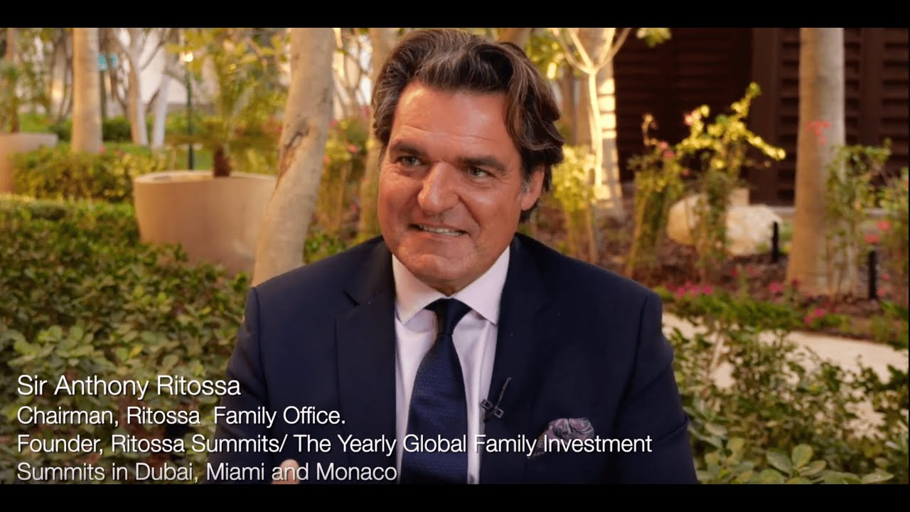 (Teaser) Sir Anthony Ritossa's 10th Global Family Office Investment Summit, Dubai