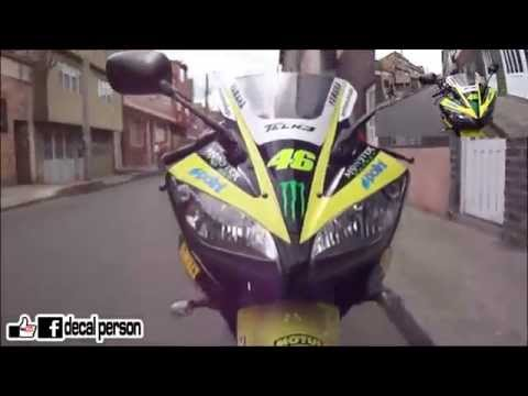 R15 Monster Yamaha tech 3 Decal Person