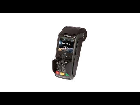 Zahlung mit der girocard und PIN-Eingabe mit dem iWL250