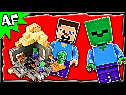 Vidéo LEGO Minecraft 21119 : Le donjon