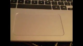 How to use a laptop trackpad/ left vs right click