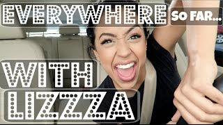 1 MILLION?! EVERYWHERE WITH LIZZZA!! | Lizzza