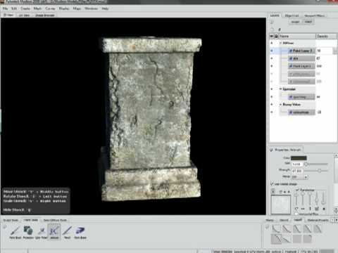 Texturing with Mudbox (Success, Workflow, Tutorials