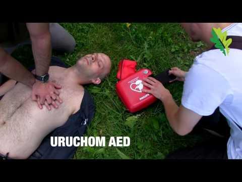 Film instruktażowy jak używać defibrylatora AED
