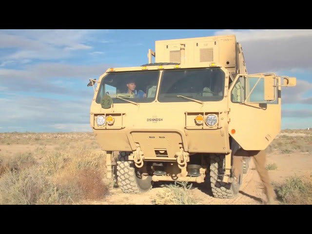 Military HighTech, High Energy Laser Mobile Demonstrator