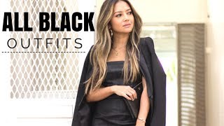 All Black Outfit Ideas | How To Style All Black