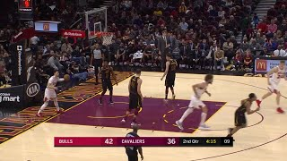 2nd Quarter, One Box Video: Cleveland Cavaliers vs. Chicago Bulls