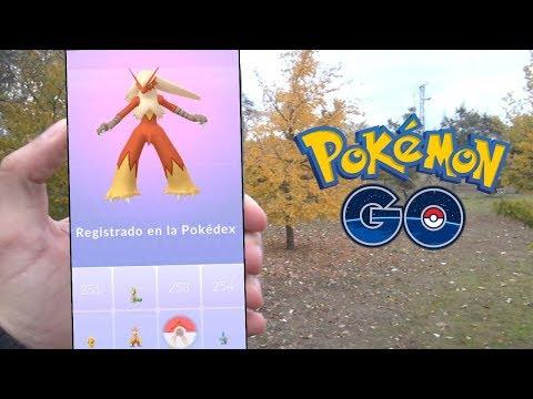 BLAZIKEN REGISTRADO! APROVECHANDO EL NIDO DE TORCHIC! [Pokémon GO-davidpetit]