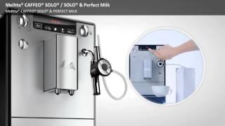Caffeo Solo Solo Milk PerfectMilk EN
