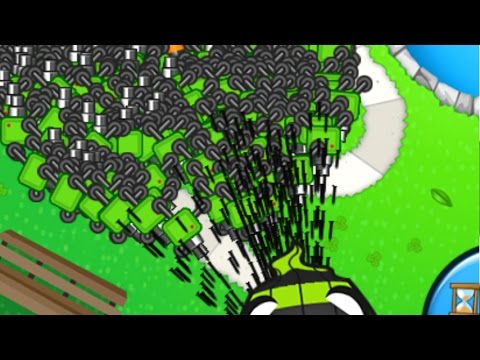 Hypersonic Sentry Guns vs. Late Game! Bloons TD Battles (BTD Battles)