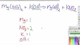 Balancing Equations Practice Problems