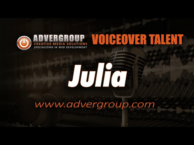 JULIA Female VOICEOV ..