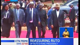 President Uhuru Kenyatta,Raila Odinga led mourners in the memorial service for late Matiba