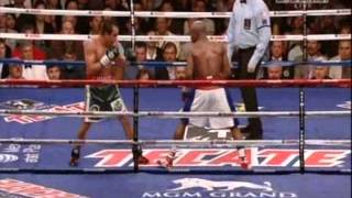 Floyd Mayweather Jr Vs juan Manuel Marquez Highlights every good punch