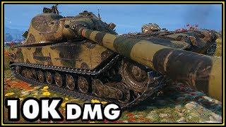 K-91 - 10K Damage - World of Tanks Gameplay