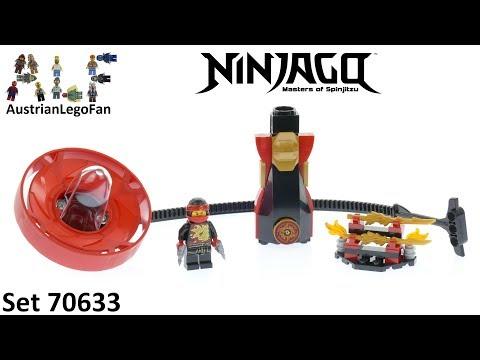 Vidéo LEGO Ninjago 70633 : Kai - Maître du Spinjitzu