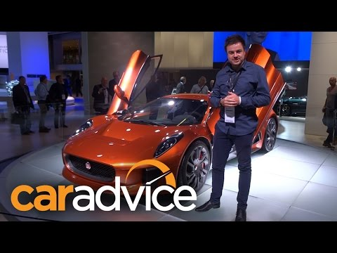 Jaguar C-X75 from James Bond 007 Spectre Walkaround : 2015 Frankfurt Motor Show