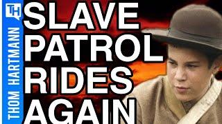 The Slave Patrol Returns In Kenosha Wisconsin....