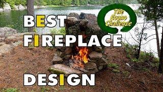 Best Wilderness Fireplace Design