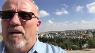 """""""Arrived In Jerusalem"""""""