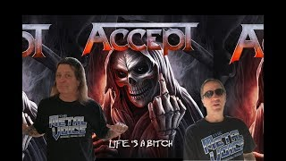 Accept- Life's A Bitch Song Review Reaction w/ David Reece (ex Accept)-What do u think?