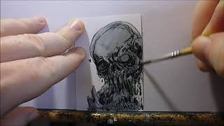 How To Draw A Sketch Card