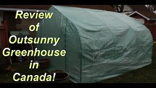 Review Of Outsunny Greenhouse 10 Ft X11.5 Ft
