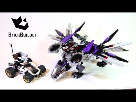 Vidéo LEGO Ninjago 70725 : L'attaque du dragon Nindroïde