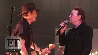 Bono, Johnny Depp Honour Dolores O'Riordan