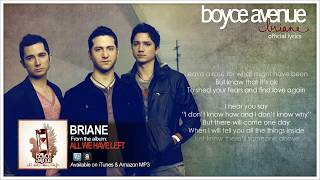 Boyce Avenue - Briane (Official Song, Lyrics&Meaning Behind The Song) on iTunes