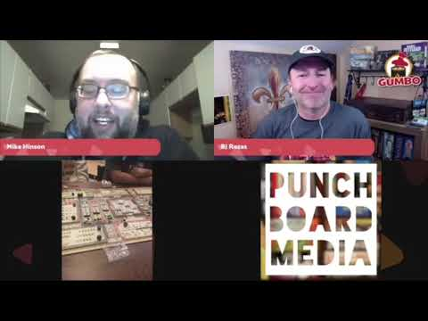 Gumbo Live! with Mike Hinson of Elk Creek Games talking Teotihuacan