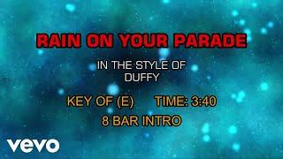 Duffy - Rain On Your Parade (Karaoke)