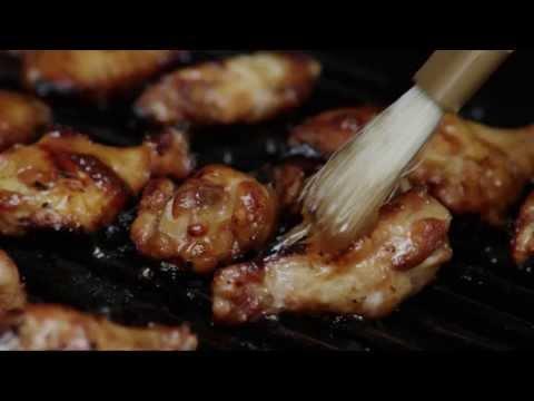 How to Make BBQ Chicken Wings   Chicken Wing Recipe   Allrecipes.com