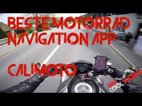 Calimoto App   best Motorrad Navigation   Vorstellung - Z1000 MotoVlog