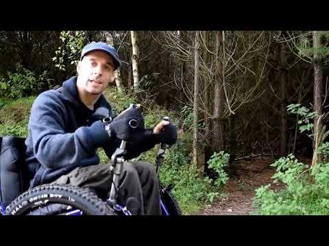 Rob tests the Mountain Trike Evo