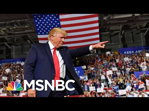 Trump rally chants, Trump backtracks: 'Send her back' - The Day That Was   MSNBC