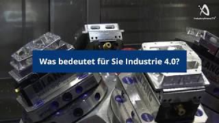 industrie 4.0 Area auf der EMO Hannover - Tag 3, 20.09.2017