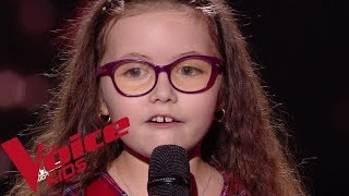 Serge Lama   Je Suis Malade | Emma | The Voice Kids France 2018 | Blind Audition