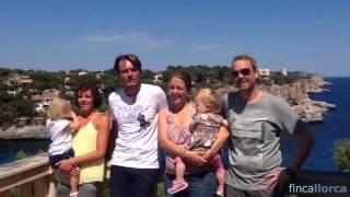 Video Benjamin mit seiner Familie