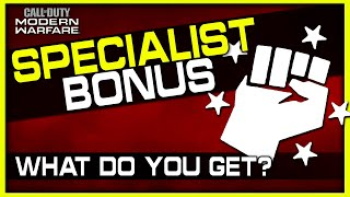 How the Specialist Bonus Works in Modern Warfare! (More than Just Perks!)