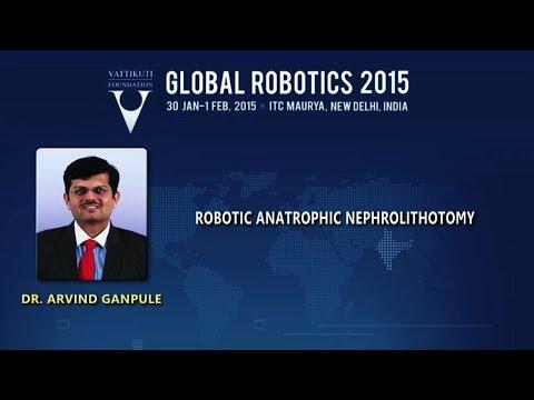 Robotic Anatrophic Nephrolithotomy