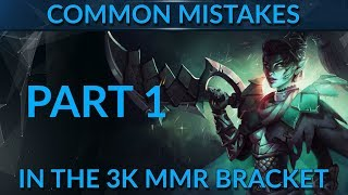 Common mistakes in the 3k mmr bracket - Part 1
