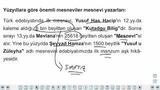 Eğitim Vadisi AYT Edebiyat 18.Föy Hikaye Konu Anlatım Videoları
