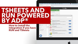 Install the Integration if you have QuickBooks Time and RUN