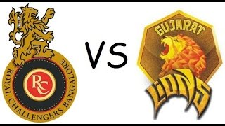 Don Bradman Cricket 17 Gujarat Lions vs Royal Challengers Bangalore Ipl 2017